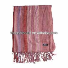 Женская мода тканые шарф