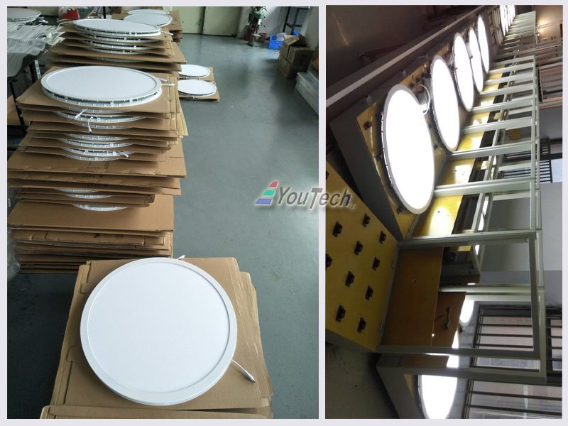 48W panel light photos