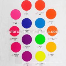 Raffiniertes Partikelgröße, gutes Dispersionsvermögen Fluoreszierendes Pigment
