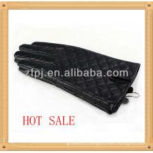 Men's Diamond plaid leather glove