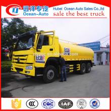 6*4 Sinotruk Howo 20000 liter water tank truck