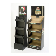 Promotional Pop Compartment Cardboard Display for Spices