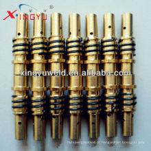 Suporte da ponta do contato (Binzel 15ak) / peças da tocha de soldadura