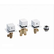 Sales promotional cheap shower mixer faucets  brass bathtub faucet