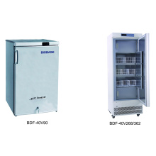 Biobase -40 congélateur vertical à basse température centré avec 90L, 268L, 362L