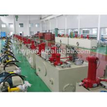 El sistema hidráulico se aplica al cortador hidráulico de tijera