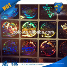 HOT SALE Shenzhen ZOLO custom hologram label hang tag