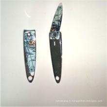 Coupe-ongles professionnel en acier inoxydable