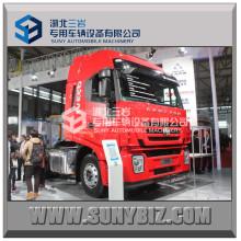 380HP Hongyan Iveco 6X4 Tracteur compétitif pour Scania
