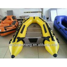 Barco de deporte de alta velocidad de piso de PVC aluminio