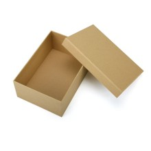 Factory made hot-sale for Drawer Gift Packing Box Brown plain cardboard paper box with lid supply to India Exporter