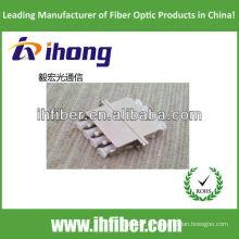 Adaptador de fibra óptica LC metal cuadruplex con alta calidad