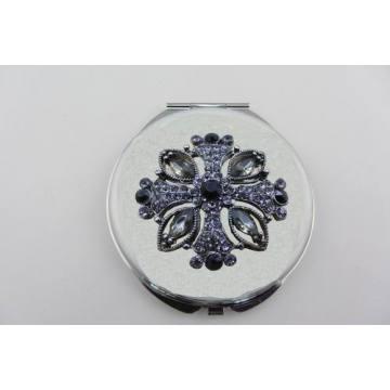 Jeweled Croix Compact Mirrors