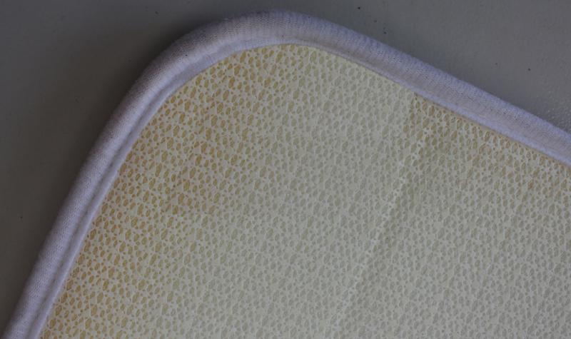 Bathmat with unti-slip backing