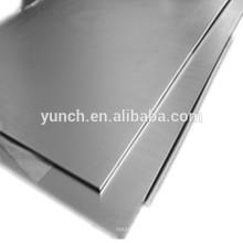 W1 placa de tungstênio puro usado em fábrica de produtos químicos