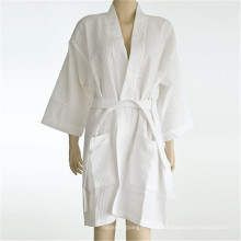 Solid Color Comfortable Fitness Bathrobe (WSB-2016018)