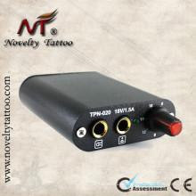 N1005-10D negro mini fuente de alimentación de tatuaje