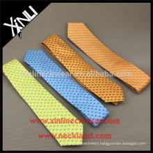 Perfect Knot 100% Handmade Silk Neck Tie Digital Printing