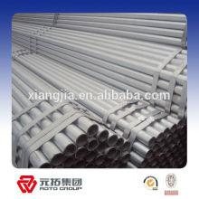 Tubo galvanizado sumergido caliente / fabricante del tubo de HDG a África