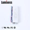 UL recongnied cintilação livre 1700mA 60W escurecimento eletrônico 24v driver de led
