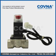 Gás de emergência fechado válvula, válvula de aço inoxidável, válvula de gás, válvula solenóide de 1 polegada