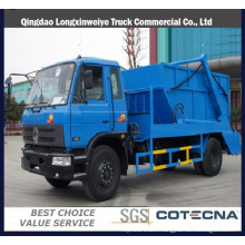 Dongfeng 8ton Swing-Arm Type Garbage Truck