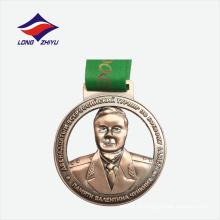 Custom design metal round 3d design die cast zinc liga medalha