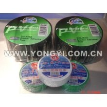 Ruban électrique d'isolation ignifuge de PVC