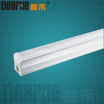 LED 0.6m 9w T5 tube light 2700-6500k integration design Ra80 100lm/w 2835 SMD chip with 91pcs AC100-2