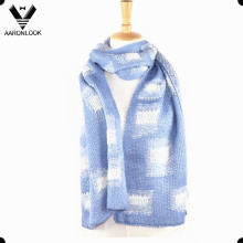 Fashion Winter Knitting Pattern Jacquard Men Scarf