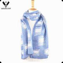 2016 Moda Inverno Jacquard Knitting Pattern Scarf