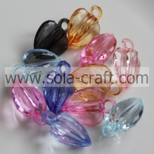 12*16*23MM Clear Transparent Grade A Acrylic Heart Charm Beads Purchase