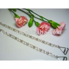 pearl metal bra straps