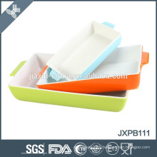 rectangle oven plate with handle in all size