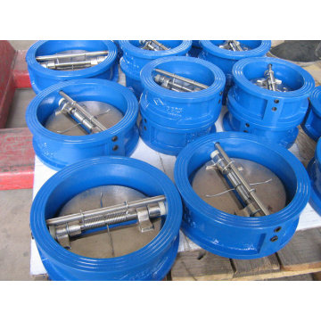 Cast Iron Wafer Type Dual-Door Check Valve