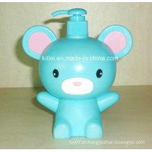 Mini figura do animal crianças bebê inflável kitty brinquedos indoor playground boneca de plástico