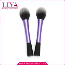 Cheveux synthétiques forme meilleure poudre cosmétique brosses rondes