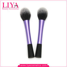 Synthetic hair round shape best cosmetic powder brushes