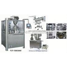 Machine semi-automatique de remplissage de capsules pour capsules de gélatine dure