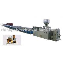 Línea de extrusión de perfiles de PVC (máquina de plástico)
