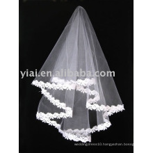 2013 Applique Tulle Wedding Veil V006