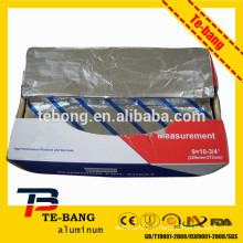 8011 feuille de feuille de feuille de qualité alimentaire / feuille d'aluminium rouleau / papier mignon