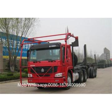 6x4 40 Ton Log Carrier Heavy Trucks