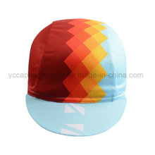 Custom Sublimation Printed Coolmax Cycling Cap/Bike Cap with Different Designs