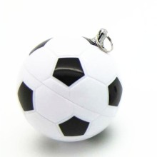 OEM+football+Pen+drive+with+key+chain