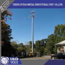 Modern techniques hot selling transmission telecom pole