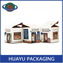 Popular Western-style Kitchen Ingredients Kraft Paper Packing Box