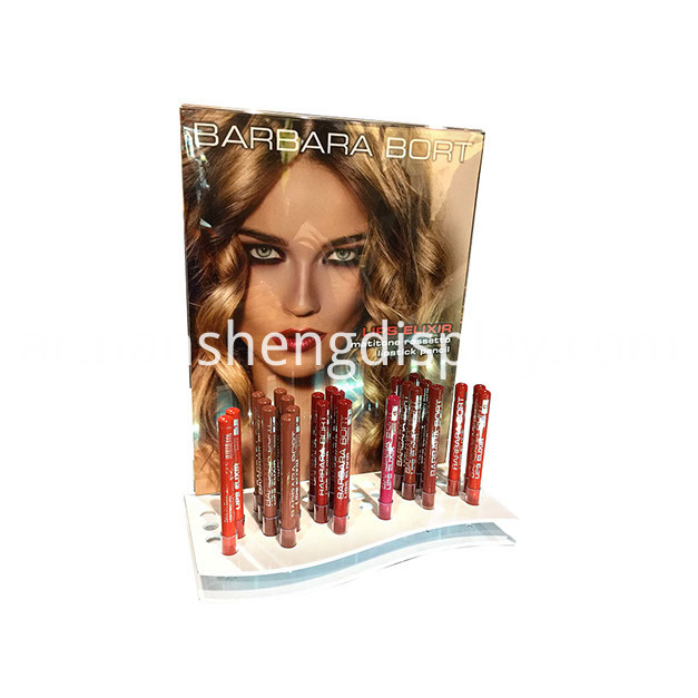 Cardboard Lipstick Display