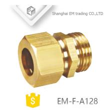 EM-F-A128 Hochwertiger Messing-Außensechskant-Schnellverbinder