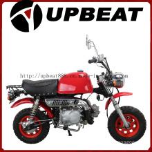 Upbeat Motorcycle Red Monkey Bike